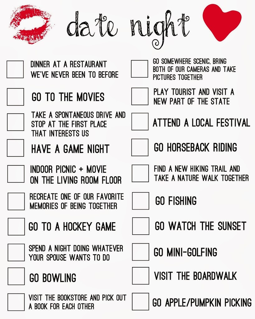 best things to do on a date