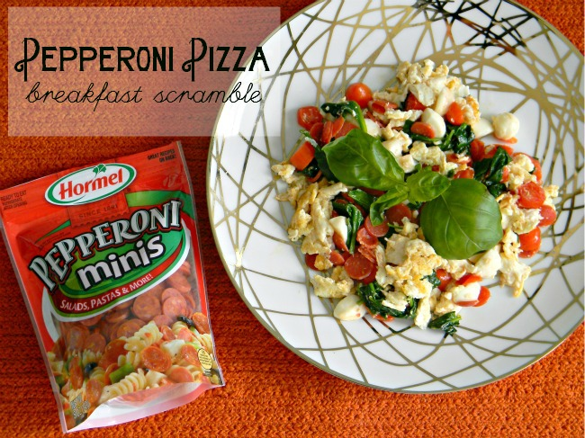 pepperonipizzabreakfastscramble
