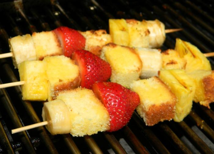 Fun in the Sun Fruit Kebabs - On the Grill