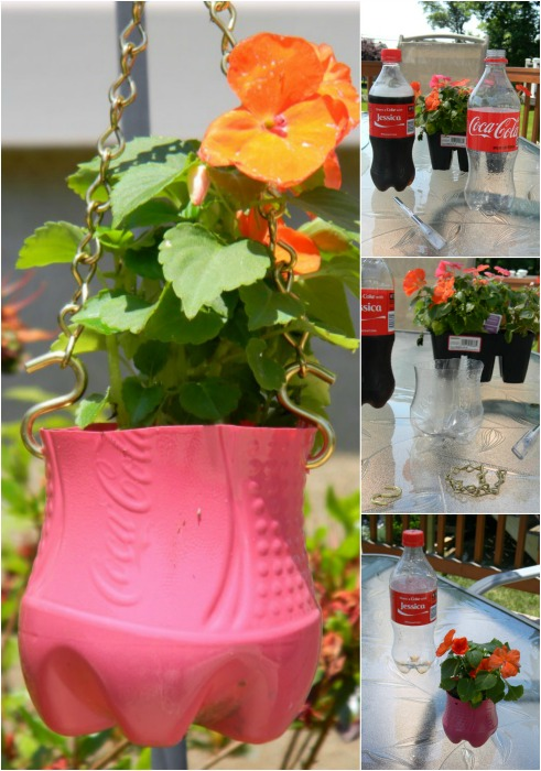 My Happy Hour in the Garden + Recycled Bottle DIY