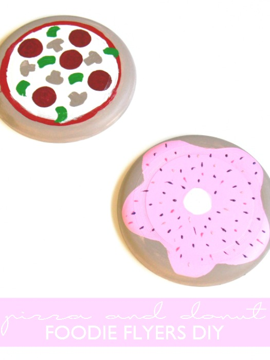 Pizza and Donut Foodie Flyers DIY