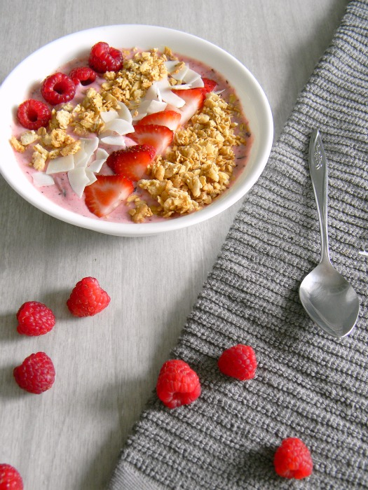 Red Berry Smoothie Bowl
