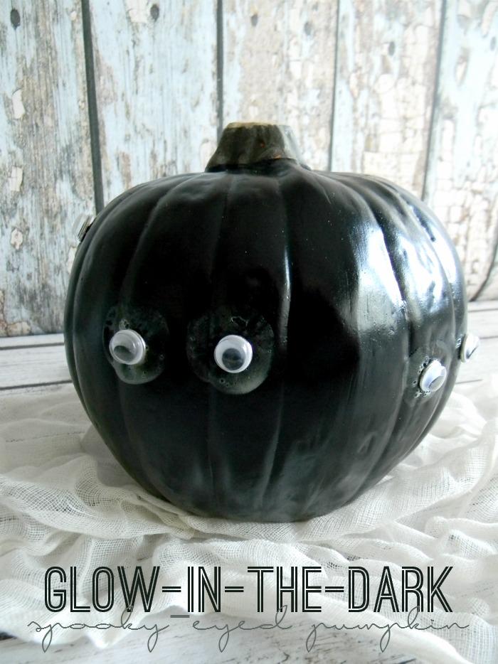 Glow-in-the-Dark Spooky-Eyed Pumpkin