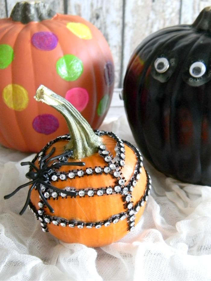 3 DIY No Carve Pumpkin Ideas
