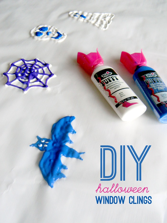 DIY Halloween Window Clings - Living La Vida Holoka