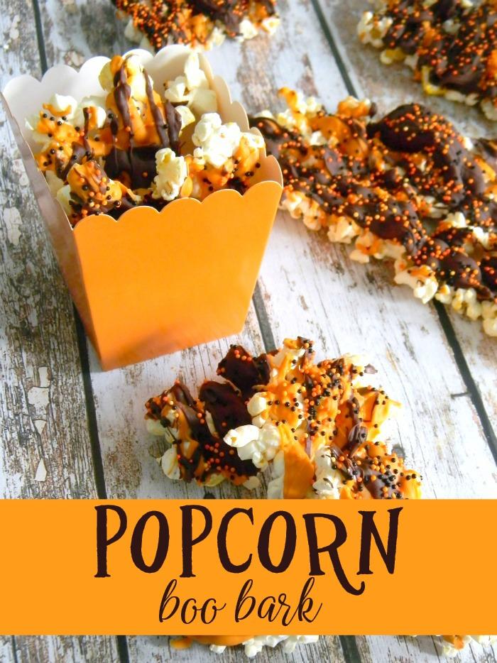 Popcorn Boo Bark