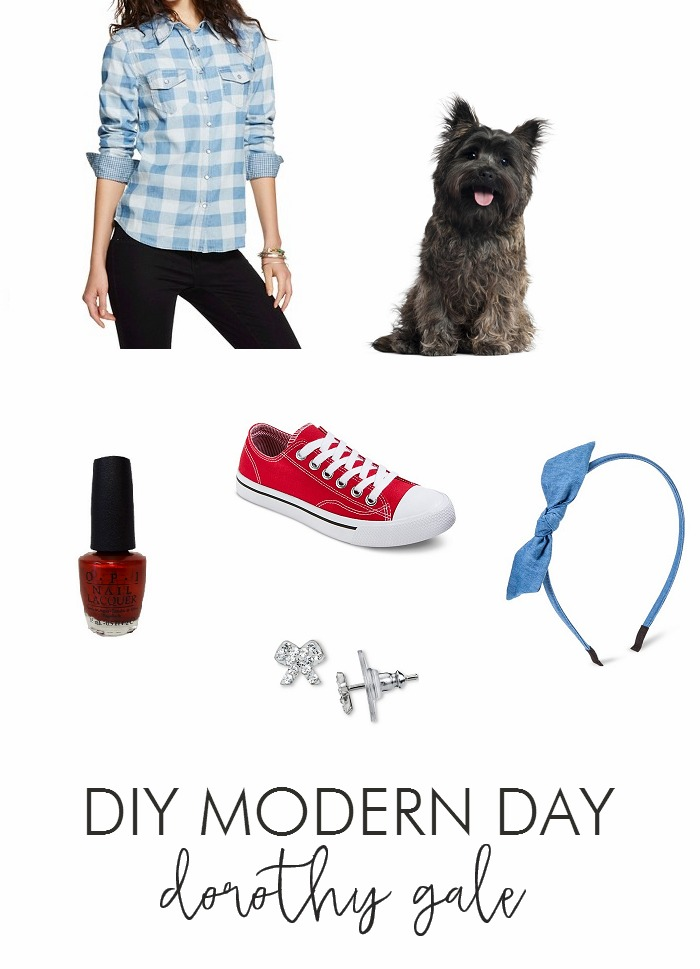 Diy Modern Day Dorothy Gale Costume Living La Vida Holoka