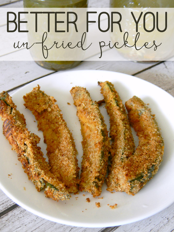Better for You Un-Fried Pickles