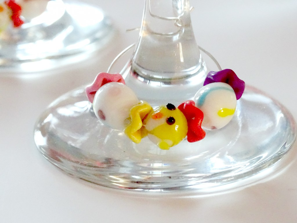 DIY Easter Wine Glass Charm