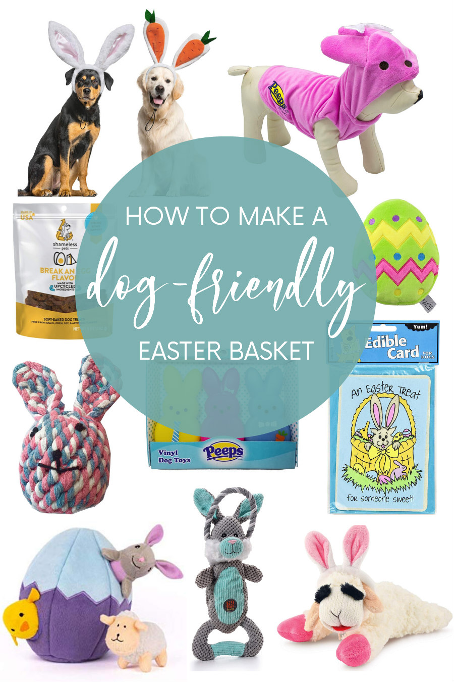 dog friendly easter basket