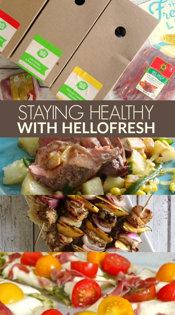 Staying Healthy with HelloFresh