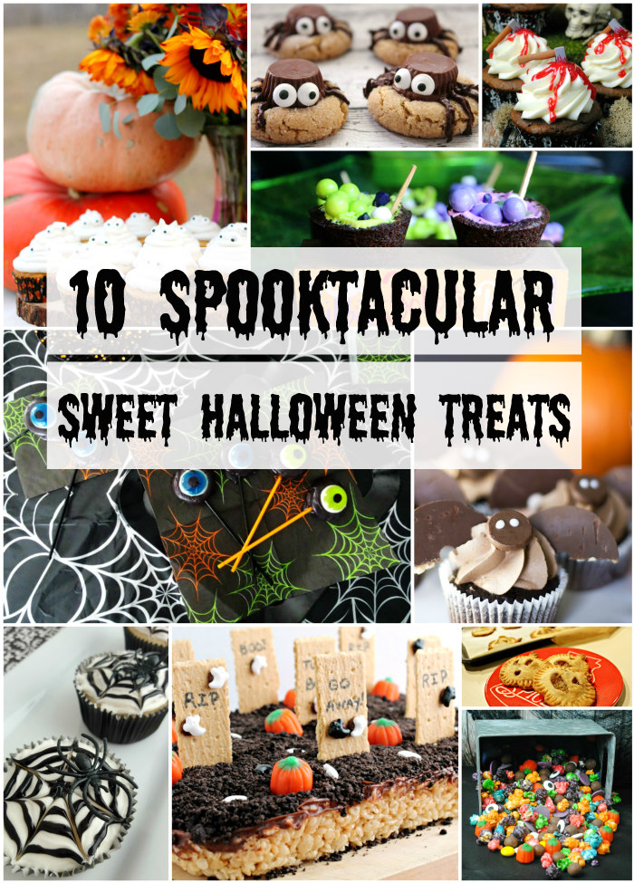 10 Spooktacular Sweet Halloween Treats