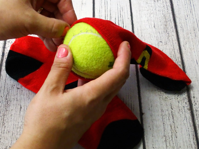 DIY Jingle Ball Dog Toy