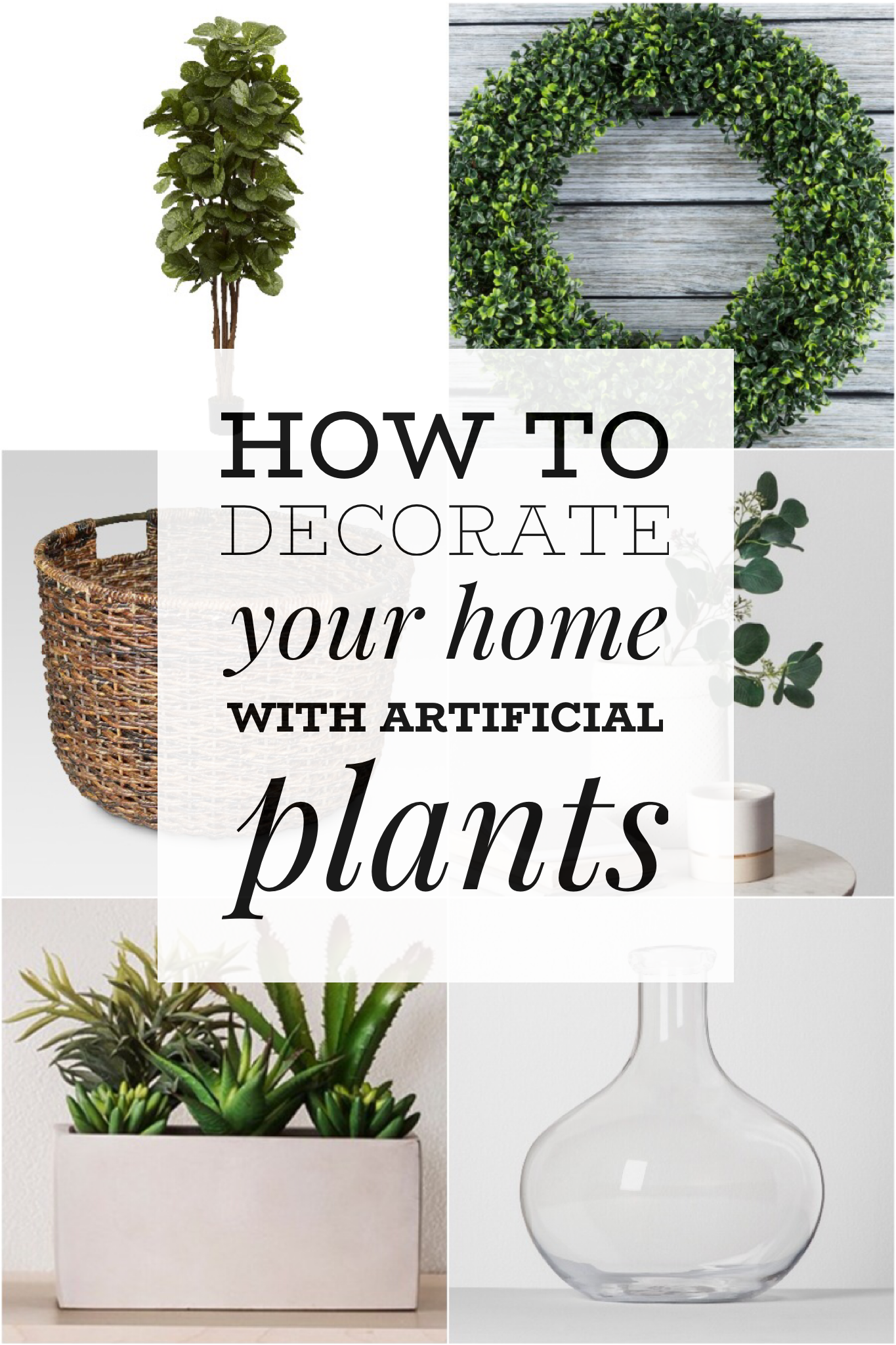 How To Decorate Your Home With Artificial Plants Living La Vida Holoka