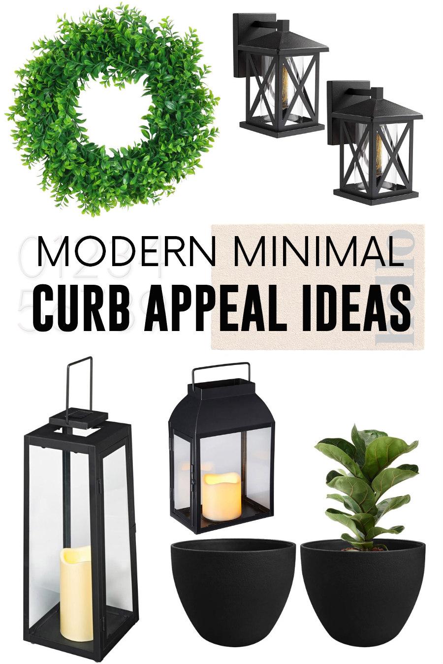 minimal curb appeal ideas