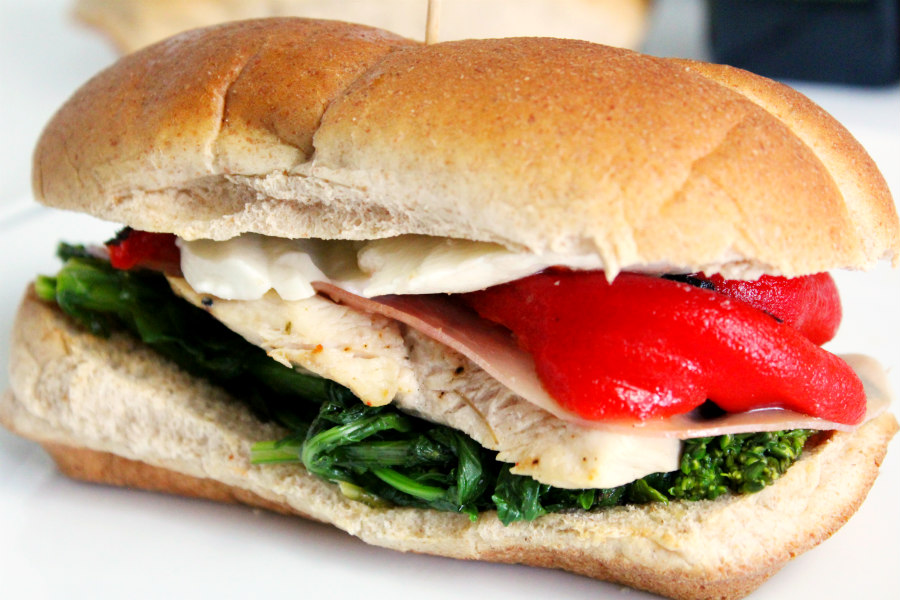 Grilled Herb & Garlic Italian Chicken Sandwich