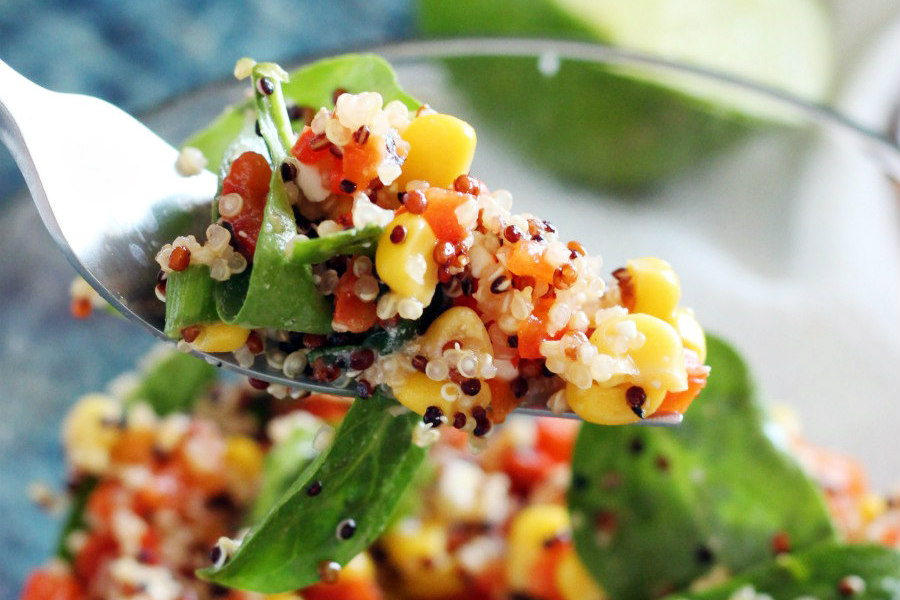 So Fresh and So Green Quinoa Salad