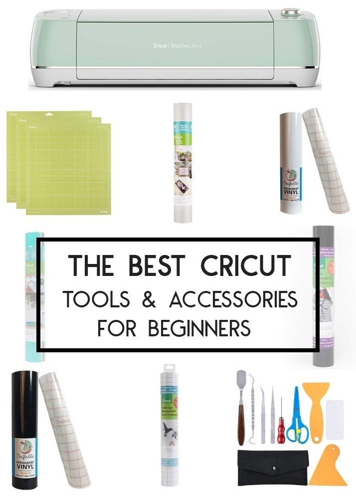 The Best Cricut Tools & Accessories for Beginners - Living La Vida