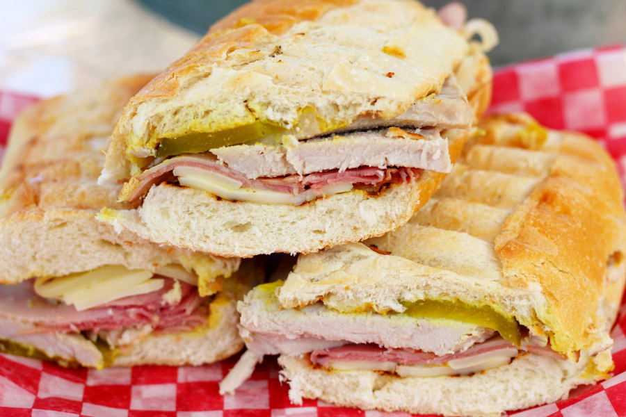 Grilled Cuban Hatfield® Pork Sandwiches