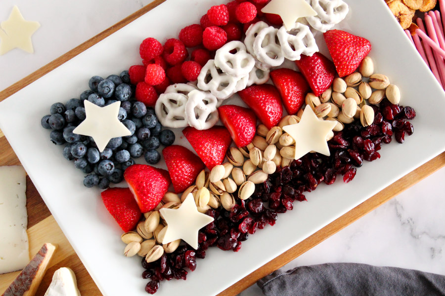 4th of July Snack Board