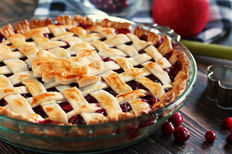 Fresh Cranberry Apple Pie