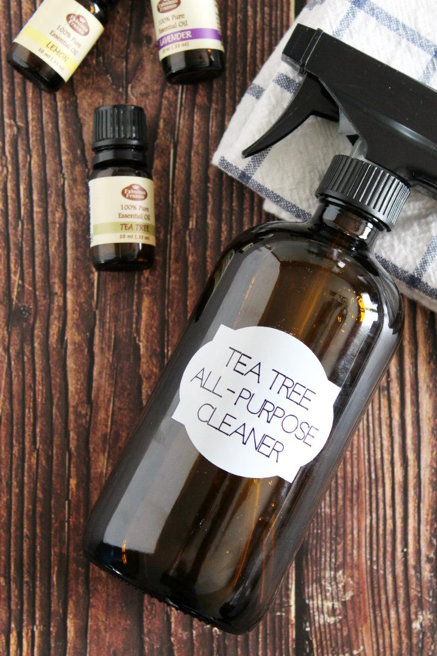 tea tree oil all purpose cleaner