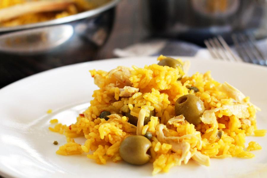 Spanish Chicken and Yellow Rice