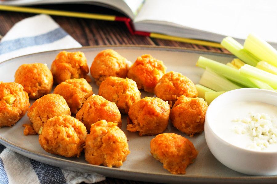 The Meatball Shop Buffalo Chicken Meatballs