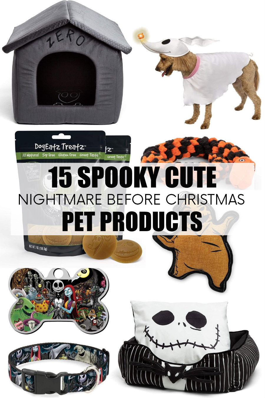 nightmare before christmas pet products