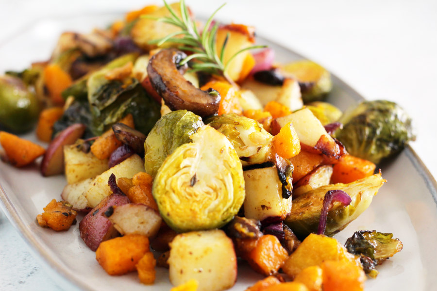 Roasted Fall Vegetable Medley