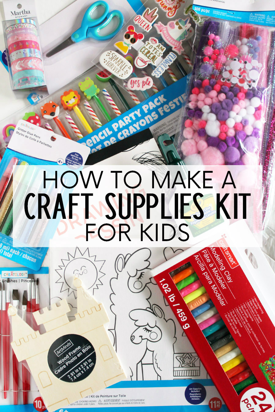 craft supplies kit for kids