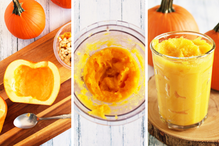 How to Roast a Pumpkin to Make Pumpkin Puree