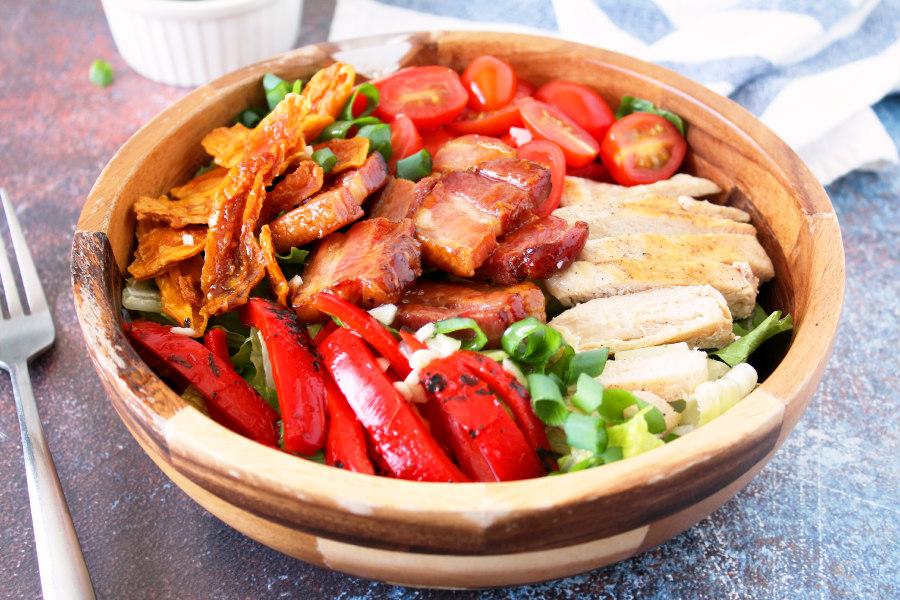 Chicken Mango Salad with Bacon