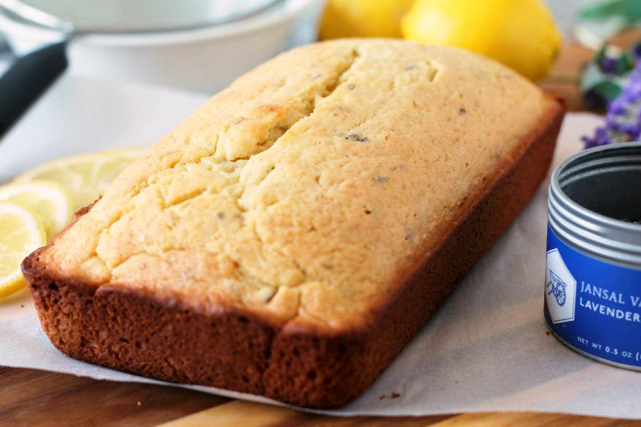 Lavender-Lemon Tea Bread